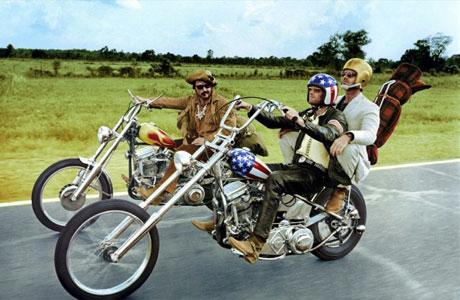 Peter Fonda, Dennis Hopper e Jack Nicholson